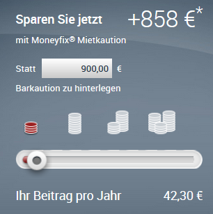Moneyfix Mietkaution Kosten